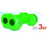Гантели ST560.3-3 Inter Atletika 3 кг