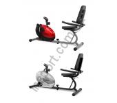 Магнитный велотренажер SCUD Swift H3 красный/серый