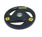 Черный диск олимпийский обрезиненный RCP17 15 кг