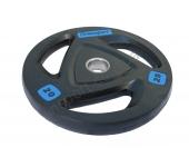 Черный диск олимпийский обрезиненный RCP17 20