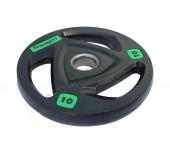 Черный диск олимпийский обрезиненный RCP17 10