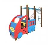 Машинка с гимнастическим комплексом TE506