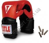 Снарядные боксерские перчатки с утяжелителями TITLE Classic Weighted Bag Gloves 2091