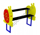 S744 Детская скамейка со столом
