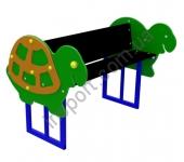 S746 Детская скамейка двойная