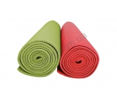 Мат тренировочный, 4 мм зеленый/красный