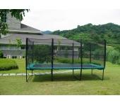 Прямоугольный батут KIDIGO 457х305 см с защитной сеткой