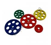 Цветной диск олимпийский обрезиненный RCP19 20