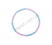 Обруч-массажер Hop-Sport с шариками 6008
