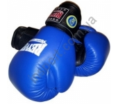 Перчатки боксерские REYVEL ФБУ (кожа) 10-12 oz