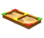 Песочница двойная DIO205