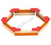 Песочница шестиугольная DIO206