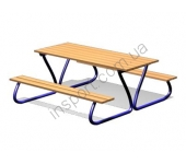 Столик со скамейками DIO213