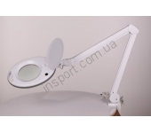 Лампа-лупа настольная LS-6027 LED (5 диоптрий)