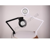 Лампа-лупа настольная CQ-6017 LED (3 диоптрии)
