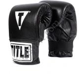 Снарядные перчатки TITLE Boxing Traditional Style Pro 2076