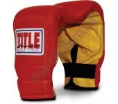 Снарядные боксерские перчатки TITLE Classic Extended Wrist Pro Bag 2129