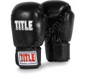 Боксерские перчатки TITLE Classic Black Max 2028