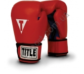 Перчатки для бокса/фитбокса TITLE Boxing Leather Aerobic 2048