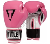 Боксерские перчатки TITLE Air Flash Boxing Gloves 2152