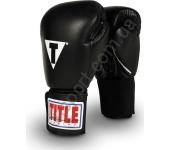 Боксерские тренировочные перчатки TITLE Classic Mexican Style 2058