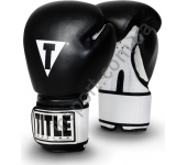 Снарядные боксерские перчатки TITLE Boxing Premier Leather Super Bag Gloves 2086