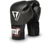 Боксерские тренировочные перчатки TITLE Platinum 2098