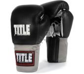 Боксерские перчатки для спарринг TITLE Platinum Paramount Bag/Sparring Gloves 2094