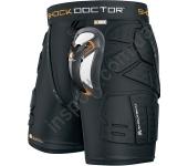 Защитные шорты с протекторами и ракушкой Shock Doctor SHOCKSKIN LAX RELAX FIT 8688