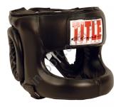 Боксерский шлем TITLE Classiс Face Protector Headgear 5113