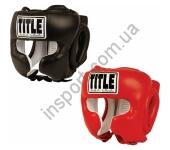 Боксерский защитный шлем TITLE Boxing Traditional Training Headger 5001