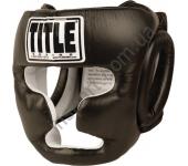 Боксерский закрытый защитный шлем TITLE Boxing Full Face Training Headgear 5117