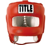 Боксерский шлем TITLE Boxing Face Protector Training Headgear 5057