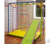 Игровой складной спортивный комплекс «Лиана» цветной базовая цена указана за рукоход Лиана с веревочным комплектом без сетки и мата