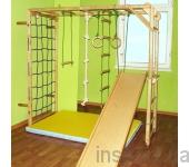 Игровой складной спортивный комплекс «Лиана» без мата(базовая цена указана за рукоход Лиана с веревочным комплектом
