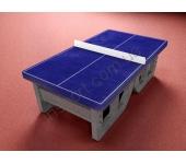 Теннисный стол для настольного тенниса из бетона
