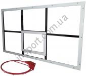 Баскетбольный щит из оргстекла - 1,05 м х 1,8 м (БО-180)