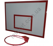 Баскетбольный щит металлический - 0,9 м х 1,2 м (БМ-120)