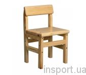 Детский стульчик деревянный (сосна)