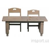 Детский столик деревянный