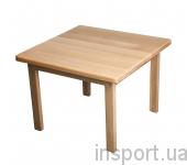 Детский столик деревянный (сосна)