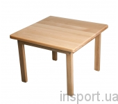 Детский столик деревянный (бук)