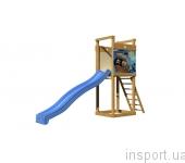 Детская горка с площадкой SportBaby-2