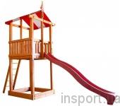 Детская горка с песочницей Babyland-1