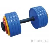 Гантель разборная Inter Atletika 25 кг ST 531.25