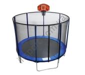 Батут с баскетбольным щитом EnergyFit GB10103-8FT (Ø244 см)