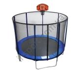 Батут с баскетбольным щитом EnergyFit GB10103-10FT (Ø305 см)