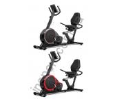 Горизонтальный велотренажер Hop-Sport HS-060L Pulse Grey/Red