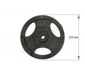 Диск чугунный USA Style 10 кг SS-EK-D25-2047-10
