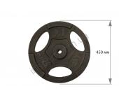 Диск чугунный USA Style 20 кг SS-EK-D25-2047-20